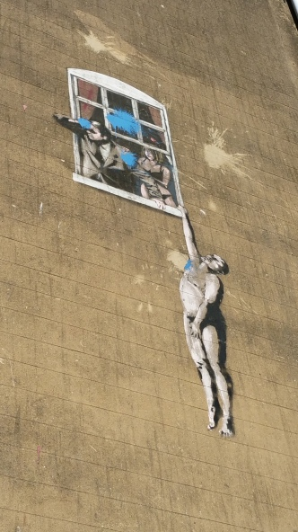 The first ever Banksy
