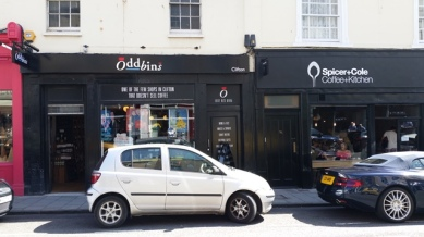 Lots of coffee shops in Clifton!
