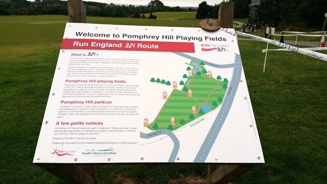 Pomphrey Hill sign
