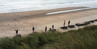 Maidenhead parkrunners at Druridge Bay parkrun