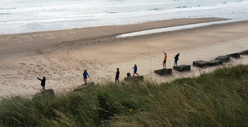 Maidenhead parkrunners at Druridge Bay parkrun