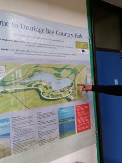 Druridge Bay Country Park map