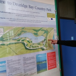 Druridge Bay Country Park map