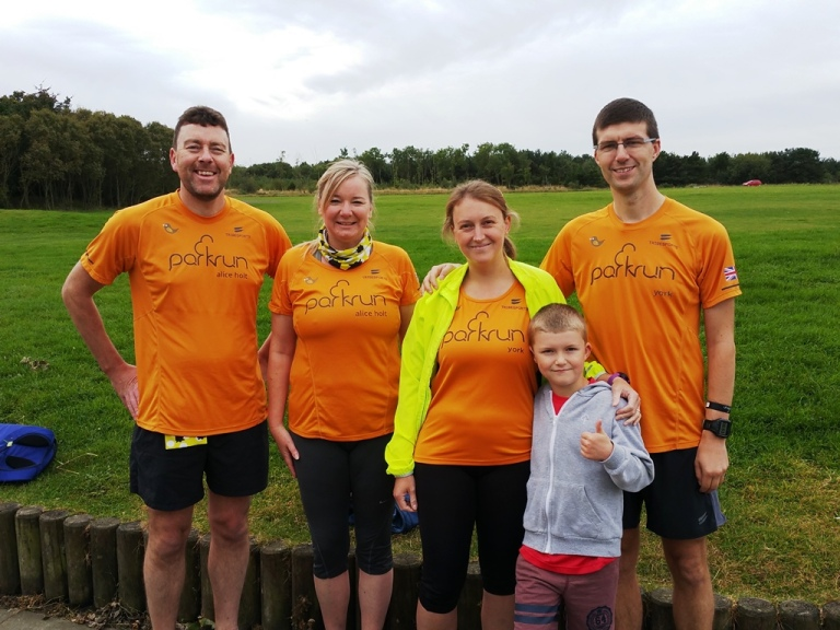 Druridge Bay parkrun York and Alice Holt visitors